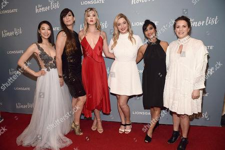 Arden Cho, Elissa Down, Director, Meghan Rienks, Sasha Pieterse, Lindsay Gomez, Senior Manager, Lionsgate Digital Studios, Liz Destro, Producer