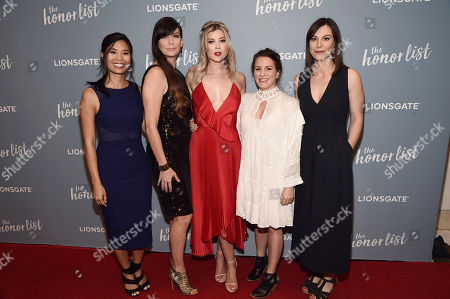 Marilyn Fu, Writer/Executive Producer, Elissa Down, Director, Meghan Rienks, Liz Destro, Producer, Catherine Goldschmidt, Cinematographer,
