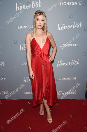 Editorial image of 'The Honor List' film screening, Los Angeles, USA - 10 May 2018