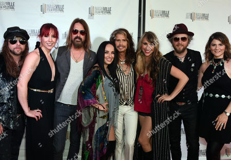 Editorial picture of 'Steven Tyler : Out On A Limb' screening and performance, Nashville Film Festival Opening Night, USA - 10 May 2018