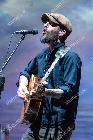 Editorial image of Ray LaMontagne in concert, The Bord Gais Energy Theatre, Dublin, Ireland - 09 May 2018