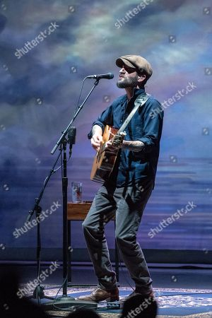 Editorial photo of Ray LaMontagne in concert, The Bord Gais Energy Theatre, Dublin, Ireland - 09 May 2018
