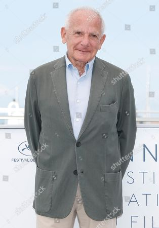 French director Marin Karmitz poses during a photocall in his homage at the 71st annual Cannes Film Festival, in Cannes, France, 11 May 2018.