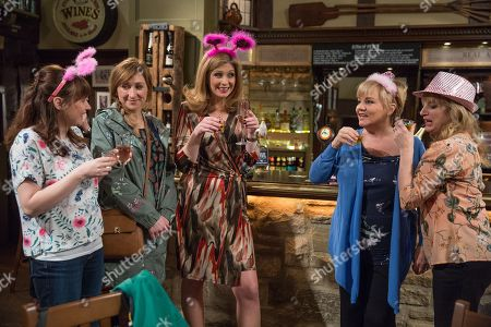 Ep 8144 Wednesday 9th May 2018  It's extremely awkward as Laurel Thomas, as played by Charlotte Bellamy, is forced to join Brenda Walker's, as played by Lesley Dunlop, hen do and Brenda tries to keep up appearances.