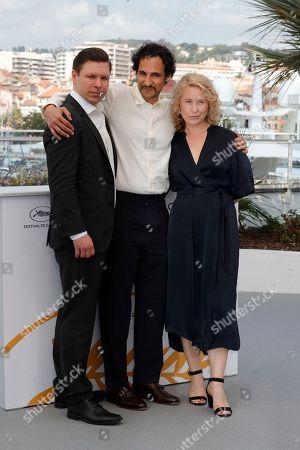 Eero Milonoff, Ali Abbasi and Eva Melander