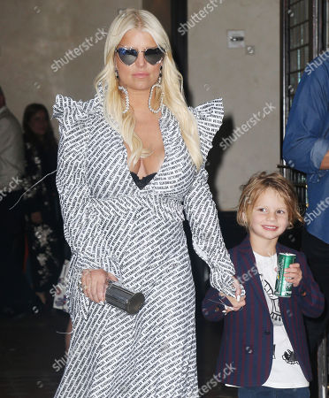 Stock Picture of Jessica Simpson, Ace Knute Johnson
