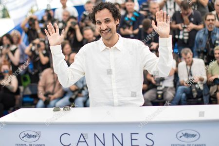 Director Ali Abbasi poses for photographers during a photo call for the film 'Grans' at the 71st international film festival, Cannes, southern France