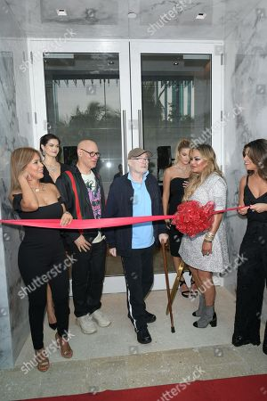 Editorial picture of Orianne Collins Jewellery Grand Opening, Miami, Florida, USA - 10 May 2018