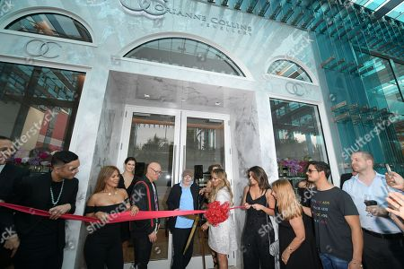 Editorial photo of Orianne Collins Jewellery Grand Opening, Miami, Florida, USA - 10 May 2018