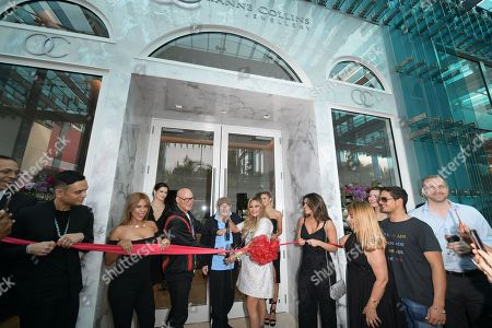 Editorial image of Orianne Collins Jewellery Grand Opening, Miami, Florida, USA - 10 May 2018
