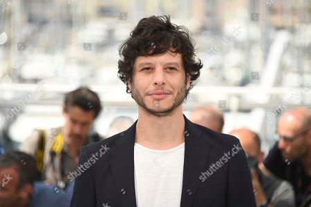 Director Luis Ortega poses for photographers during a photo call for the film 'El Angel' at the 71st international film festival, Cannes, southern France