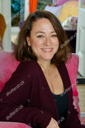 Arabella Weir at her home in North London