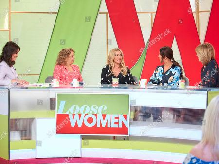 Andrea McLean, Nadia Sawalha, Heidi Range, Rebekah Vardy and Kaye Adams