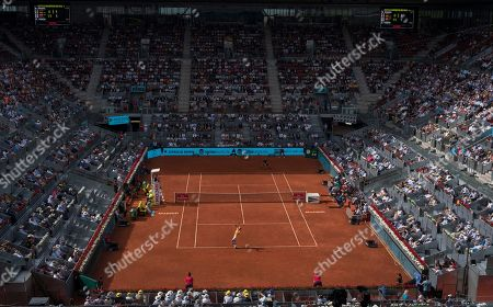 Editorial picture of Mutua Madrid  Open Tennis , Madrid , Spain - 11 May 2018