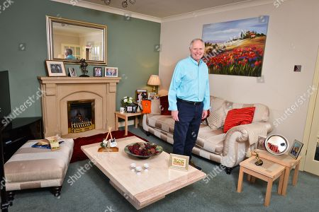 Nick Owen at his Staffordshire home