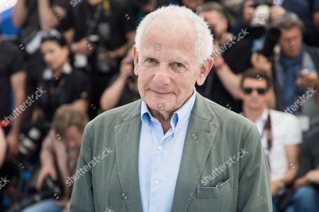 Director Marin Karmitz poses for photographers at the 71st international film festival, Cannes, southern France
