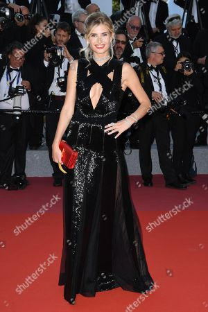 Xenia Van Der Woodsen arrives for the screening of 'Ash Is Purest White' during the 71st annual Cannes Film Festival, in Cannes, France, 11 May 2018. The movie is presented in the Official Competition of the festival which runs from 08 to 19 May.