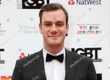 Editorial photo of British LGBT Awards, London, UK - 11 May 2018