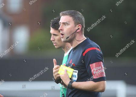 Derry City vs Cork City. Referee Paul McLoughlin