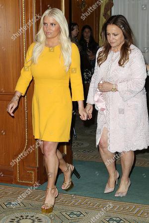 Jessica Simpson and Tina Simpson