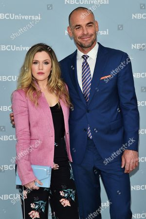 Harriet Dyer and Paul Blackthorne
