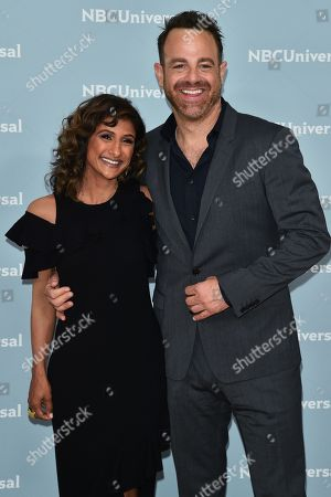 Sarayu Blue and Paul Adelstein