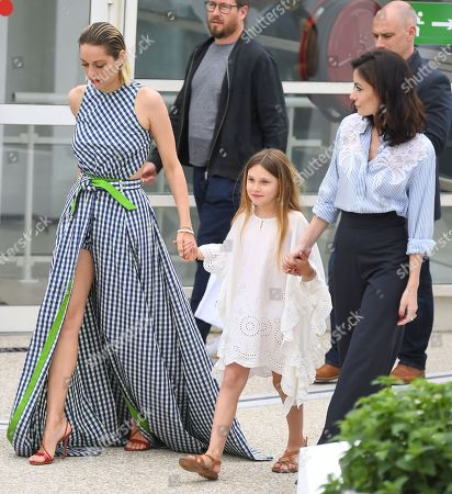 Marion Cotillard, Ayline Aksoy-Etaix and Vanessa Filho