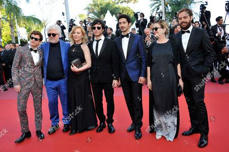 Sebastian Ortega, Lorenzo Ferro, Pedro Almodovar, Cecilia Roth, Luis Ortega, actor Chino Darin, Mercedes Moran, Juan Lanzani