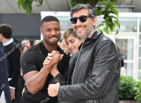Michael B. Jordan, Sofia Boutella and Ramin Bahrani