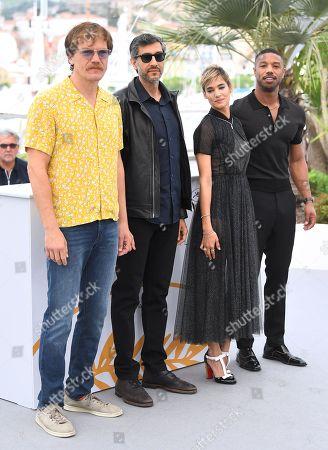Michael Shannon, Ramin Bahrani, Sofia Boutella and Michael B. Jordan
