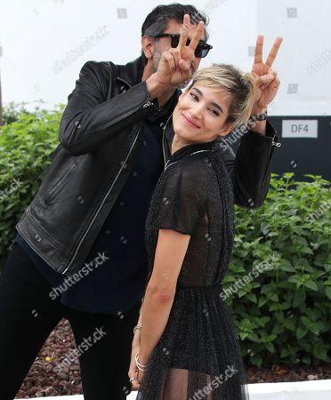 Ramin Bahrani and Sofia Boutella