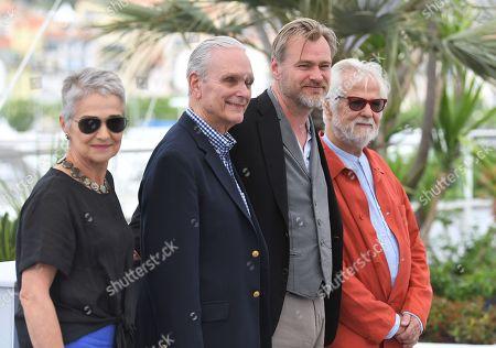 Katharina Kubrick, Keir Dullea, Christopher Nolan and Jan Harlan
