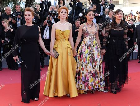 Emmanuelle Bercot, Eva Husson, Golshifteh Farahani and Didar Domehri