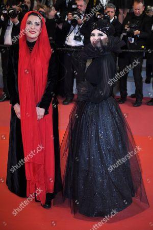 Behnaz Jafari and Mastaneh Mohajer
