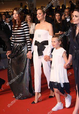 Stock Photo of Amelie Daure, Marion Cotillard and Ayline Aksoy-Etaix