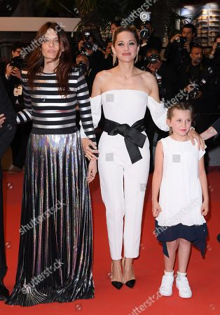 Stock Image of Amelie Daure, Marion Cotillard and Ayline Aksoy-Etaix