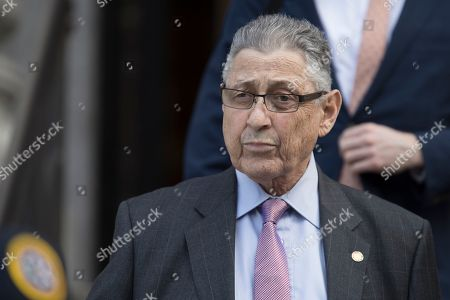 Former New York Assembly Speaker Sheldon Silver leaves federal court, in New York. A jury convicted Silver of public corruption charges Friday, dashing the 74-year-old Democrat's second attempt to avoid years in prison after a decades-long career as one of the most powerful politicians in state government