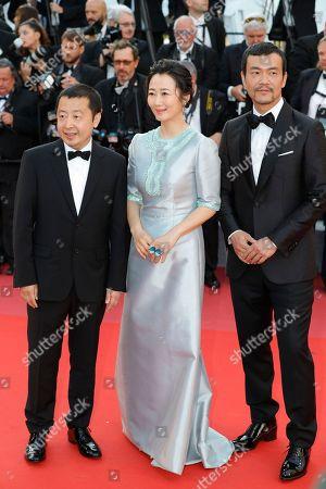 Stock Picture of Fan Liao, Tao Zhao and Zhangke Jia