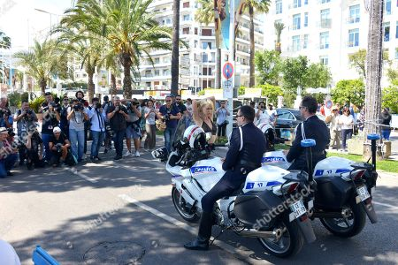 Editorial image of Aria Crescendo out and about, 71st Cannes Film Festival, France - 11 May 2018