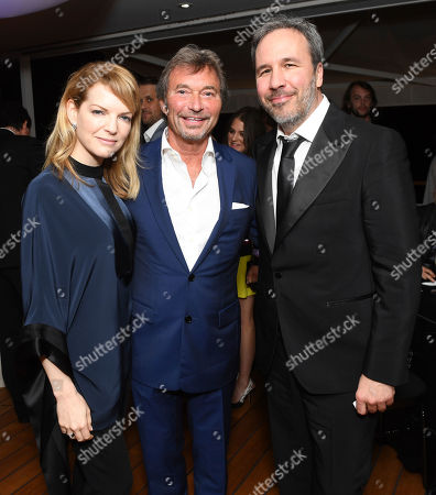 Tanya Lapointe, Patrick Wachsberger, Denis Villeneuve. Tanya Lapointe, from left, Patrick Wachsberger, Co-Chairman of Lionsgate Motion Picture Group, and Denis Villeneuve at the Lionsgate Cannes Party at the Hotel du Cap-Eden-Roc, in Cannes, France