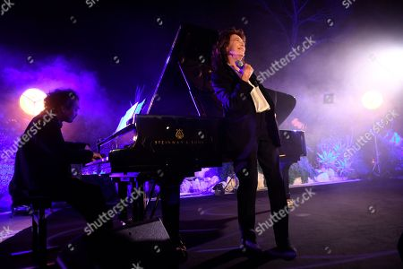 Stock Photo of Jane Birkin at the Lionsgate Cannes Party at the Hotel du Cap-Eden-Roc, in Cannes, France