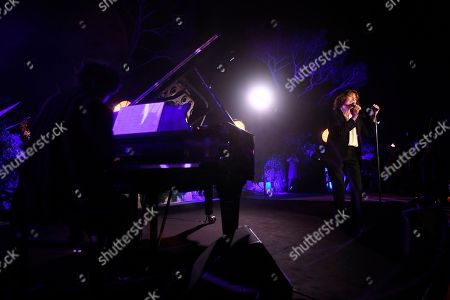 Stock Picture of Jane Birkin at the Lionsgate Cannes Party at the Hotel du Cap-Eden-Roc, in Cannes, France