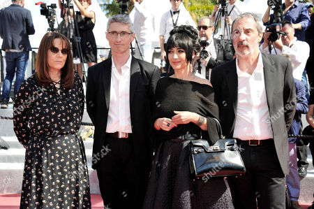 Nicole Brenez, Fabrice Aragno, Mitra Farahani, Jean Paul Battaggia
