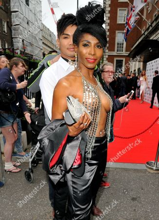 Dr. Vincent Wong and Sinitta