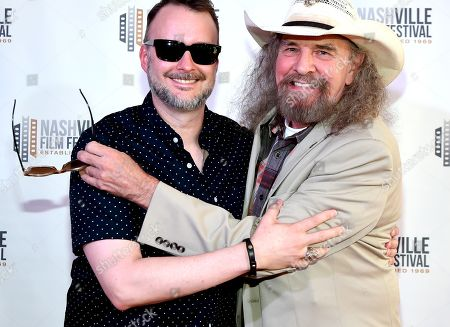 Stock Picture of Director Stephen Kijak and Artimus Pyle