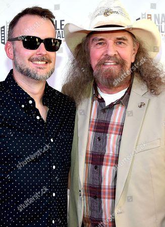 Stock Photo of Artimus Pyle and Director Stephen Kijak