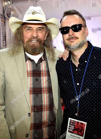 Artimus Pyle and Director Stephen Kijak