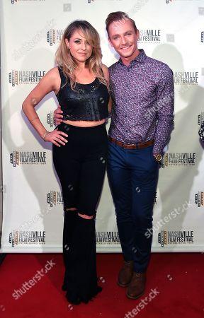 Leah Turner and Zac Woodward