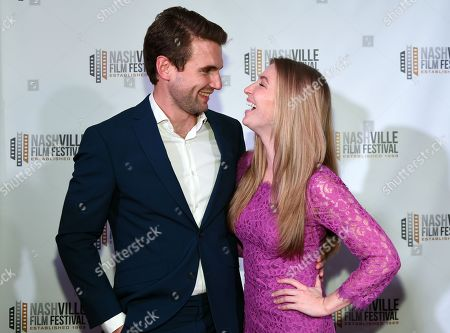 Alex Russell and Diana Hopper