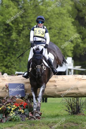 Laura Collett riding Dacapo during the International Horse Trials at Chatsworth, Bakewell. Picture by George Franks